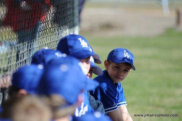 Game 1: Dodgers vs Rangers 5-3-2011
