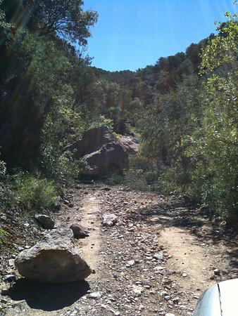 garden canyon rockfall
