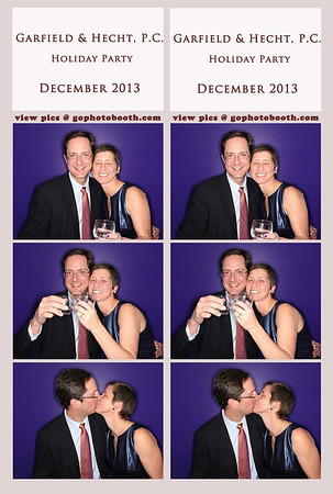 Garfield & Hecht Holiday Party Photo Booth 12/13/13