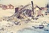 Wesley's woodpile, Moose River, from Garnet Hamilton slides misc75