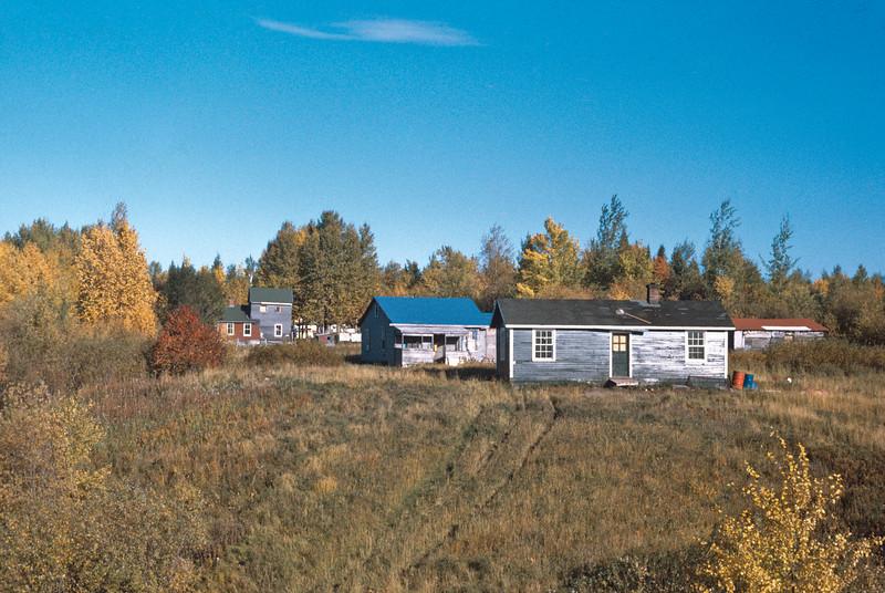 Bunk house, 1971, from Garnet Hamilton slides misc75