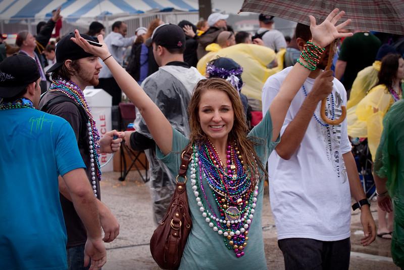 She's got beads!