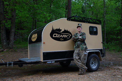 This is Todd.  Todd spent a week alone in the National Forest hunting turkeys.  It rained every single day and he wished he had a camper like the Ozark.  Get an Ozark.  Don't be miserable like Todd.