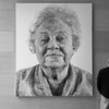"""Fanny/Fingerpainting"", Chuck Close, National Gallery of Art, Washington DC"
