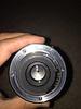 24mm/2.8 mount & aperture blades