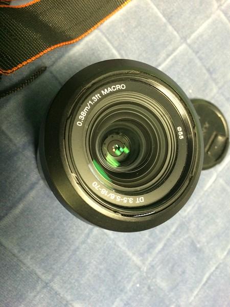 Sony 18-70 kit lens front