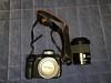 Sony a200 + strap + 18-70 kit lens