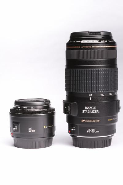 Canon 50mm Vs 70-300 mm