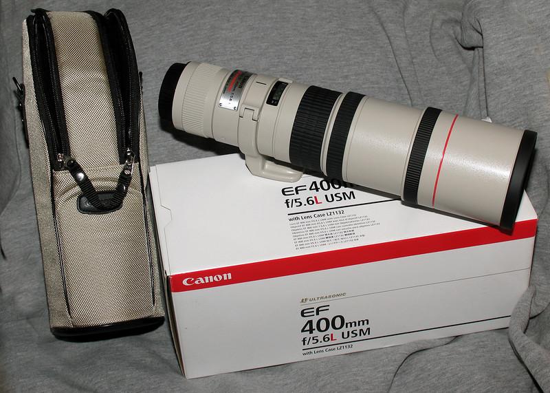 Canon EF 400 5.6L USM
