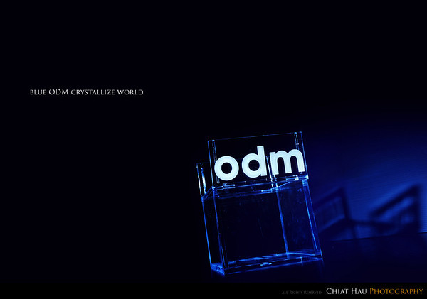 Blue ODM Crystallize World