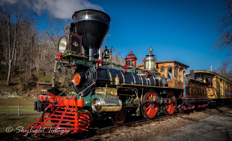 Steam into History Railroad, York County PA.