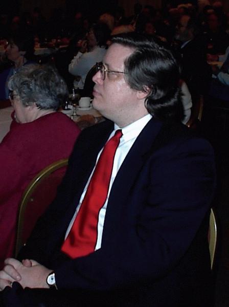 Bob at the banquet