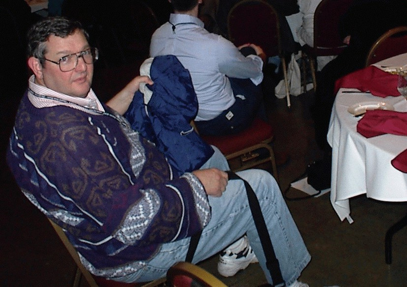 Frank at the banquet