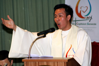 Fr. Vien Nguyen leads the response