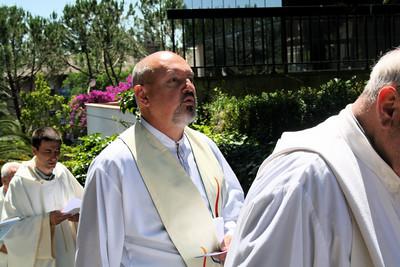 Fr. Sandro Capoferri, one of the moderators