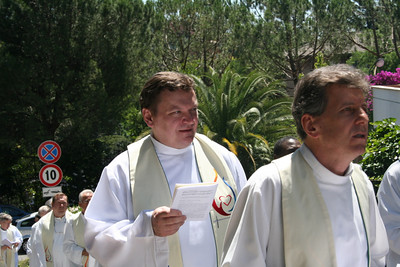 Out-going councilor Fr. Zbigniew Bogacz