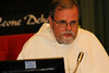 Fr. Claudio Dalla Zuanna shares his thoughts during the homily on Friday.