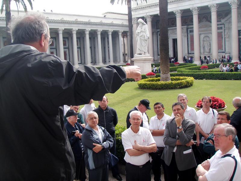Fr. Claudio Siebenaler talks about St. Paul's.