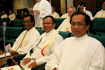 Indonesians pre-Mass