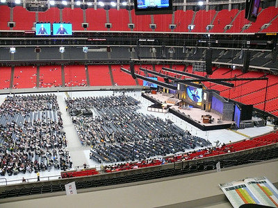 General Conference Session in 2010 at Atlanta, GA, USA, with special accommodation for deaf