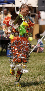 Jingle dress in action