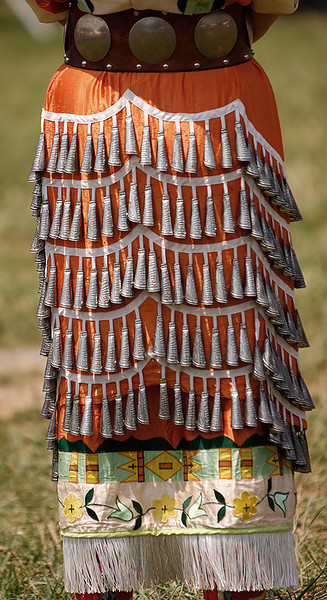 This is known as a jingle dress