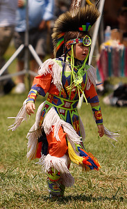 Very Young Pow Wow Dancer