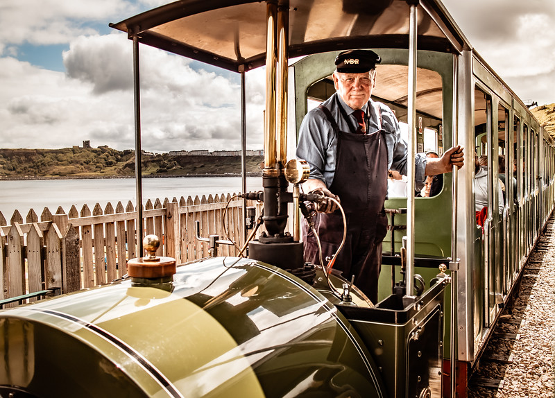 NBR Steam Train Driver