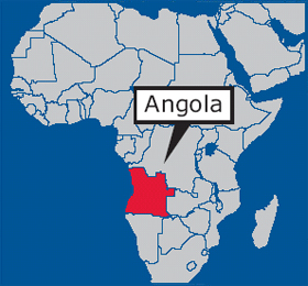 Angola On Africa Map.Trailrider Adventures And Ride Reports Angola It S Not Like They