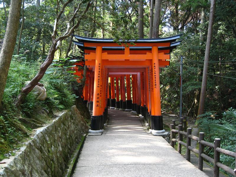 Fushimi-Inari Shrine in Kyoto