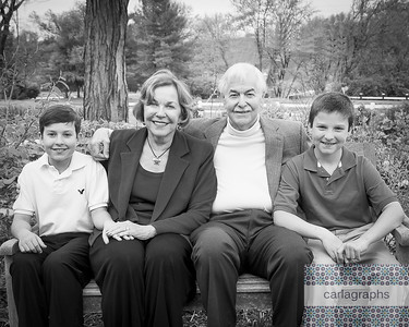 Parents and Boys croip bw (1 of 1)
