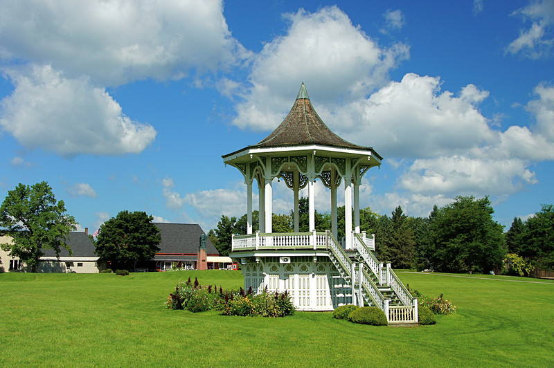 "Bandstand Gazebo in the ""Great Meadow"""