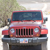Tom and Mary's, woops.... Mary's new Jeep!
