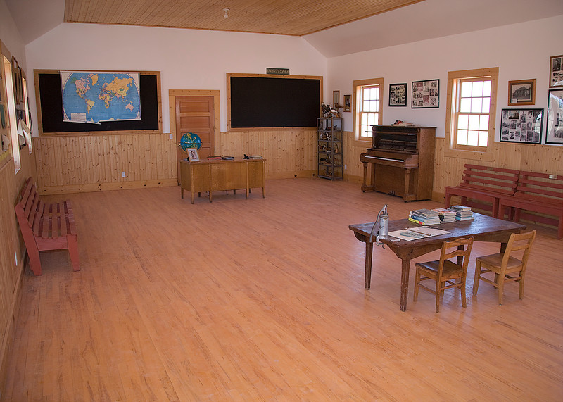 Mt. Trumbull School House - A restored one room school house in the middle of NO Where!