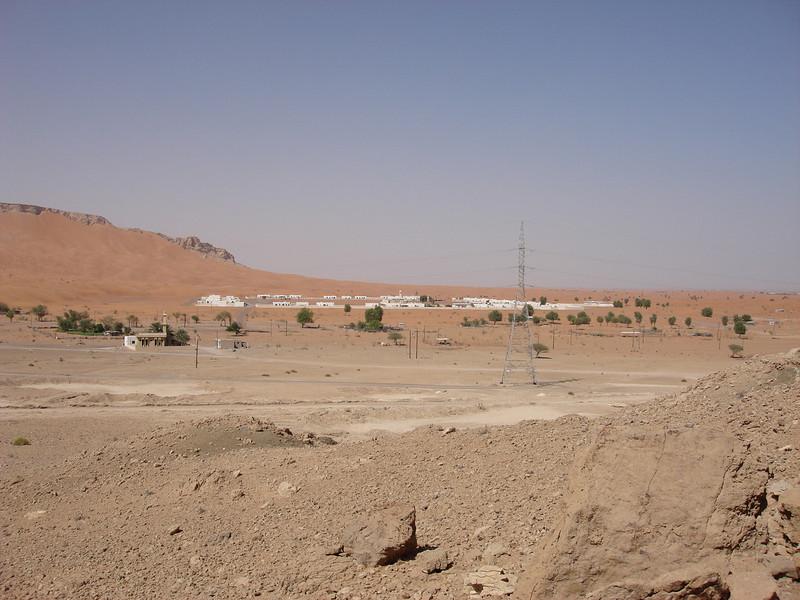 Village in Maliha, close to Fossil Rock.