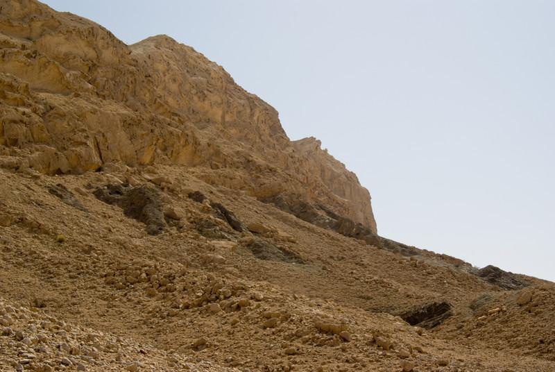 Mountain near Maliha, in the UAE desert.