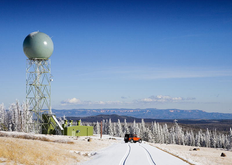 Radar site near Cedar City, UT - about 11k feet :)November 12, 2005