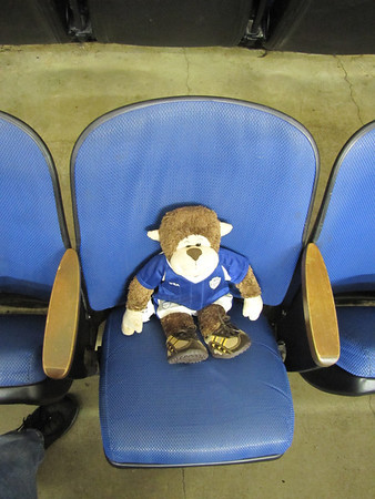George (Rally Monkey) at the Bolts Games - 1/6-7/12