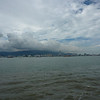 View of Penang island from the ferry