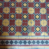 Floor tiles.  This is one of my favorite designs.