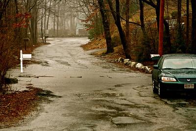 Brook Street as seen from Elm Street.