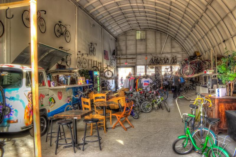 Atlanta Beltline Bicycle, Fourth Ward Atlanta