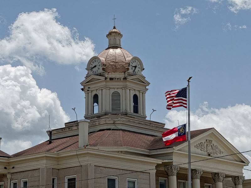 Summerville's Chattooga County Courthouse