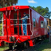 Caboose of St. Marys Steam Express