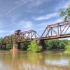Railroad bridge over the Ocmulgee