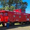 St. Marys Railroad Caboose