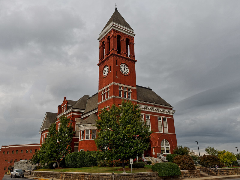 Old Floyd County Courthouse
