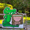 Sign as You Leave Okefenokee Swamp Park