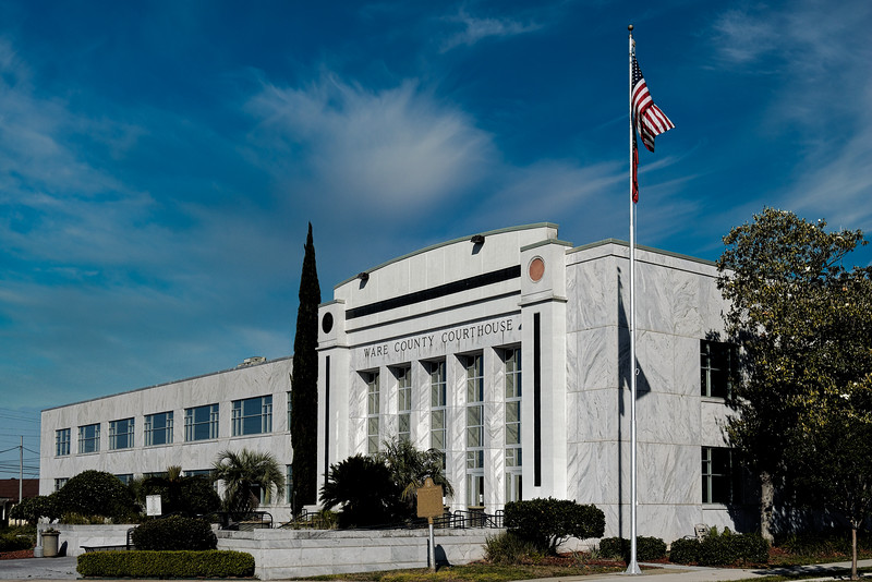 Georgia's Ware County Courthouse