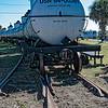 Navy Railroad Tank Cars at St. Marys Georgia